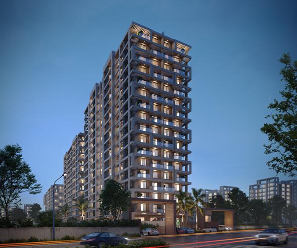 Urban skyline 2,3, 4 BHK Flat for Sale in Ravet, Pimpri Chinchwad