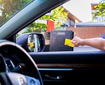 RFID Identification of vehicles