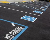 Well marked internal roads