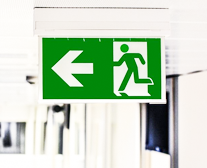 Safety signs where required