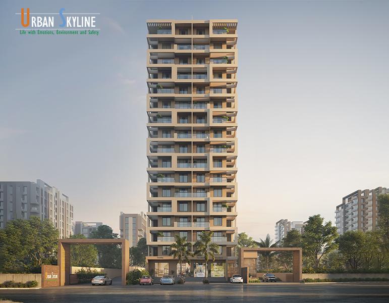 What makes Urban Skyline the best flats in Ravet?